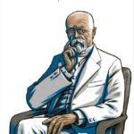 Masaryk je v komiksu sám v roli vypravěče